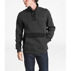 The North Face Men's Alphabet City Fleece Pullover Top TNF Dark Grey Heather