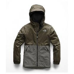 The North Face Boys' Warm Storm Jacket New Taupe Green