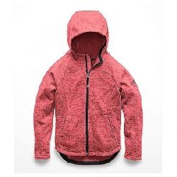The North Face Kid's Indi Fleece Hoodie Atomic Pink Heather