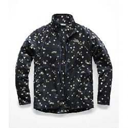 The North Face Women's Glacier Alpine Full Zip Jacket Urban Navy Sparse Triangle Print