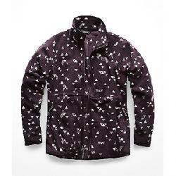 The North Face Women's Glacier Alpine Full Zip Jacket Galaxy Purple Sparse Triangle Print