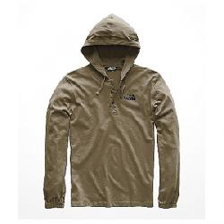 The North Face Men's Heavy Weight 1/4 Snap Hoodie New Taupe Green