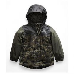 The North Face Toddlers' Tailout Rain Jacket New Taupe Green Camouflage Print