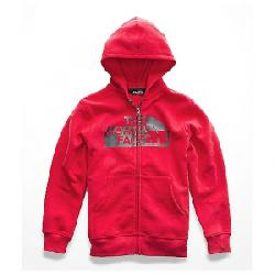 The North Face Boys' Logowear Full Zip Hoodie TNF Red / TNF Red