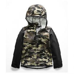 The North Face Toddlers' Surgent Full Zip Hoodie New Taupe Green Camouflage Print