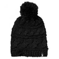 The North Face Women's Triple Cable Pom Beanie TNF Black