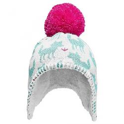The North Face Baby Faroe Beanie TNF White / Mint Blue Fox Print