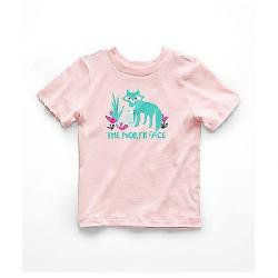 The North Face Toddlers' Graphic SS Tee Purdy Pink