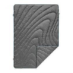 Rumpl Puffy Throw Blanket Charcoal Grey