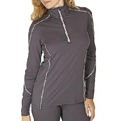 Snow Angel Women's Veluxe Essential Zip-T Charcoal/Silver