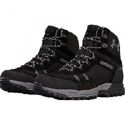 Under Armour Men's UA Post Canyon Mid WP Boot Black / Black / Steel