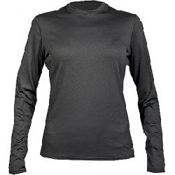 Hot Chillys Women's Micro-Elite Chamois 8K Crewneck Top Black