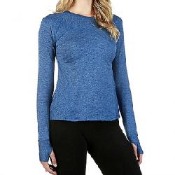Stonewear Designs Women's Anthology LS Top Blue Jay Heather