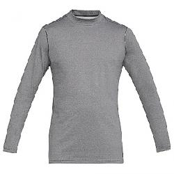 Under Armour Men's ColdGear Armour Mock Fitted Top Charcoal Light Heather / Black