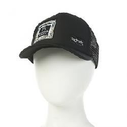 Mountain Steals Big Foam Trucker Hat by BigTruck Black / Black / Mint Patch