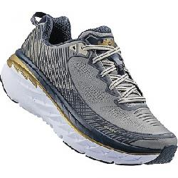 Hoka One One Men's Bondi 5 Shoe Cool Gray / Midnight Navy