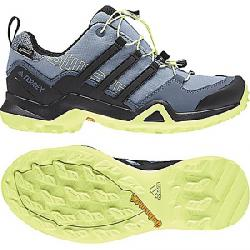 Adidas Women's Terrex Swift R2 GTX Shoe Raw Grey / Black / Semi Frozen Yellow