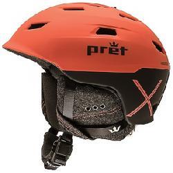 Pret Men's Refuge X Helmet Ember