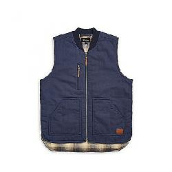 Brixton Men's Abraham Vest WASHED NAVY