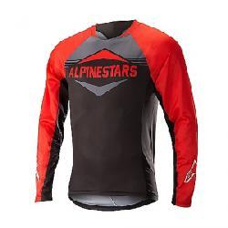 Alpine Stars Men's Mesa LS Jersey Red / Steel Grey