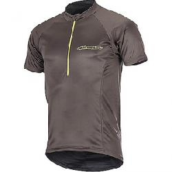 Alpine Stars Men's Elite SS Jersey Dark Shadow / Acid Yellow