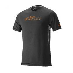 Alpine Stars Men's Blaze 2 Tee Dark Shadow / Bright Orange