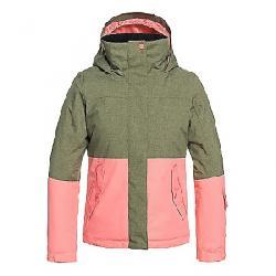 Roxy Girls' Roxy Jetty Girl Block Jacket Four Leaf Clover