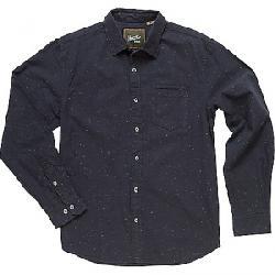 Howler Bros Men's Enfield L/S Shirt Speckled Oxford / Spider Black