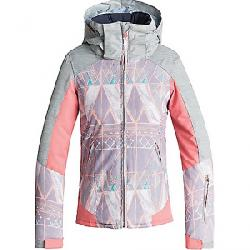 Roxy Girls' Sassy Jacket Minimal Grey / Mosaic