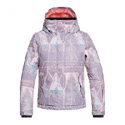 Roxy Girls' Roxy Jetty Girl Jacket Minimal Grey / Mosaic