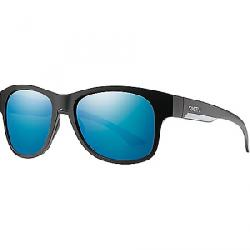 Smith Wayward ChromaPop+ Polarized Sunglasses Matte Black / Polarized Blue Mirror