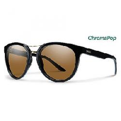 Smith Women's Bridgetown ChromaPop Polarized Sunglasses Black / Polarized Brown