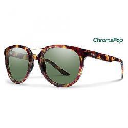 Smith Women's Bridgetown ChromaPop Polarized Sunglasses Tortoise / Polarized Grey Green