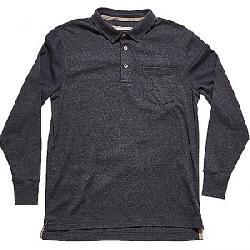 The Normal Brand Men's Long Sleeve Puremoeso Pocket Polo Navy