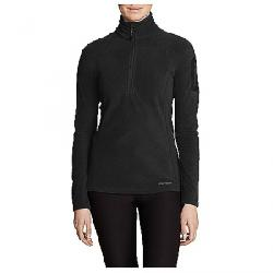 Eddie Bauer First Ascent Women's Cloud Fleece 1/4 Zi Black