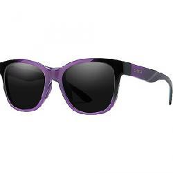 Smith Caper Sunglasses Violet Spray/Sun Black