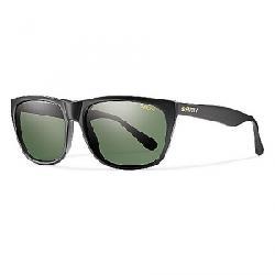 Smith Tioga Polarized Sunglasses Matte Black / Polarized Grey Green