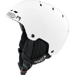 Shred Bumper Helmet Whiteout