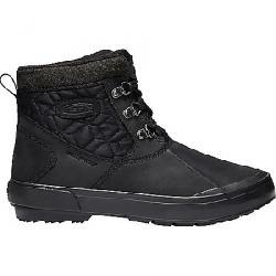 Keen Women's Elsa II Ankle Quilted Waterproof Boot Black / Black