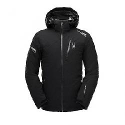 Spyder Men's Leader Jacket Black / Black / Black