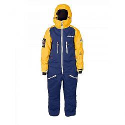 Oneskee Women's Mark IV Ski Suit Navy/Yellow