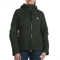 66North Women's Snaefell Alpha Jacket Military Green