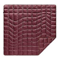 Rumpl Down Puffy Blanket Wine Red