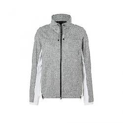 Bogner Fire+Ice Women's Kaitlyn Jacket Mid-Grey Melange/White