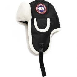 Canada Goose Women's Shearling Co-Pilot Hat Black