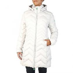 Save The Duck Women's Recycled Collection Long Jacket 1184 Frozen Grey