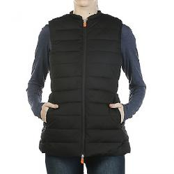 Save The Duck Women's Signature Stretch Long Vest 01 Black
