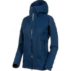 Mammut Women's Kento Hardshell Hooded Jacket Peacoat