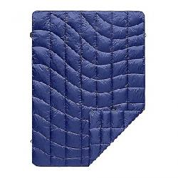 Rumpl Down Printed Puffy Throw Blanket Wave Blue