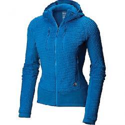 Mountain Hardwear Women's Monkey Woman Grid Hooded Jacket Prism Blue